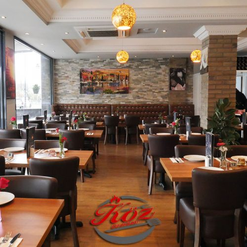 Koz Ocakbasi Turkish restaurant Greenford Halal Feed the Lion
